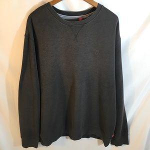 Men's IZOD Gray Sweatshirt Size XLT